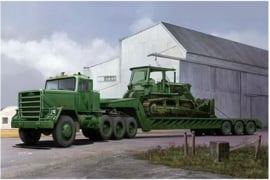 Trumpeter | 01078 | M920 Tractor tow with M870A1 semitrailer | 1:35