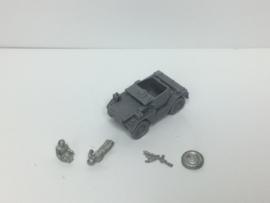 EarlyWarMiniatures | barmca1 | 2x Daimler Dingo with stowage | 1:72