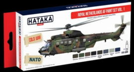 Hataka | HTK-AS80 | Royal Netherlands AF paint set vol.1 Redline