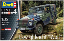 Revell | 03277 | Mercedes Wolf Lkw gl Leicht | 1:35