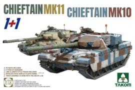 2 kits Combo Chieftain Mk.10 + Mk.11