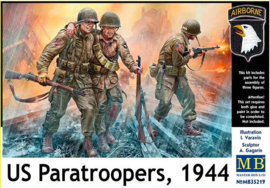 MasterBox | mb35219 | US Paratroopers 1944 | 1:35