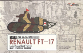 Renault FT17, cast turret. 2x