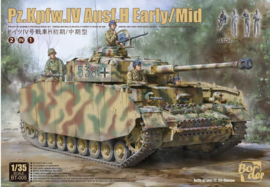 Border Model | BT-005 | Pz.Kpfw.IV Ausf.H Early/Mid with figs | 1:35