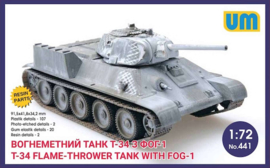 T-34 Flamethrower with FOG-1