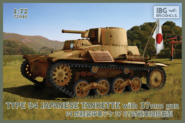 IBG | 72046 | Type 94 with 37mm Gun | 1:72