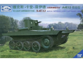 CAMS   CV35-003   VCL Light Amphibious Tank A4E12 Dutch KNIL version   1:35