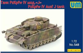 UM   548   Pz.Kpfw.IV Ausf.J   1:72
