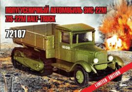 Zebrano | 72107 | ZiS-22M halftrack | 1:72