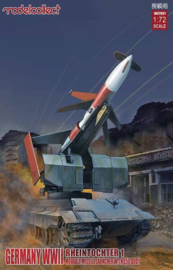 Rheintochter with movable Missile launcher  (E50 body)