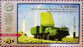 SA-10 multifunctional radar vehicle. s-300 PMU