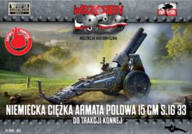 FTF | 083 | German Heavy Field Gun 15cm sIG 33 | 1:72