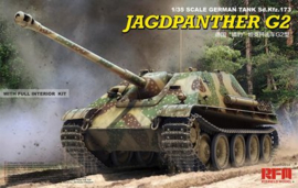 Rye Field Model | 5022 | Jagdpanther G2 - full interior | 1:35