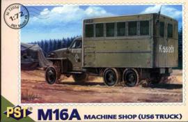 Machine Shop M16A on Studebaker base