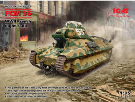 ICM | 35336 | FCM36 WWII French light tank | 1:35