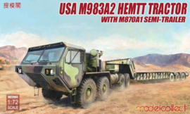 M983A2 Hemtt Tractor with M870A1 Semi-trailer