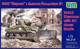 M4a2 with M1 dozerblade