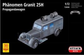 Attack | 72939 | Phanomen Granit 25H Propagandawagen | 1:72