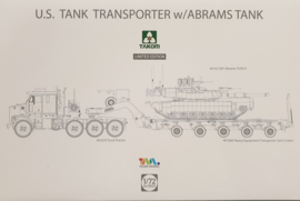M1070 Tank Transporter w/Abrams TUSK2 - limited