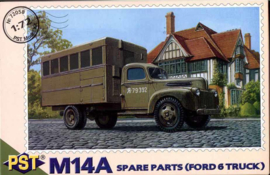 Spare parts truck  M14A on Ford 6 base