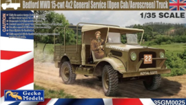 Gecko Models | 35GM0025 | Bedford MWD 15-CWT 4x2 general service | 1:35