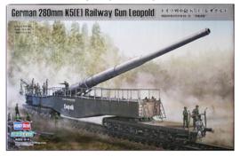 HobbyBoss | 82903 | German 280mm K5(e) Railway Gun Leopold | 1:72