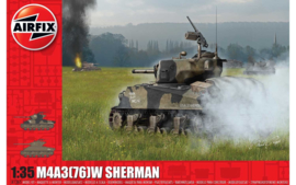 "Airfix | A1365 | M4A3 76W Sherman ""battle of the Bulge"" 