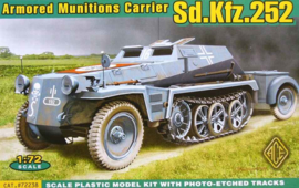 ACE | 72238 | Sd.Kfz.252 Armored Munitions Carrier | 1:72