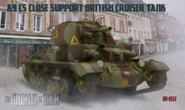 WAW | 012 | A9 CS Close Support British Cruiser tank | 1:72