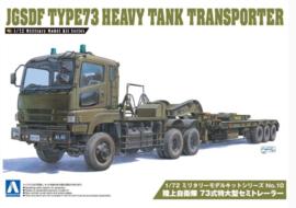 Aoshima | 009970 | JGSDF Type73 Heavy Tank Transporter | 1:72