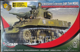 Mirage | 726066 | Light Tank M3a3  | 1:72