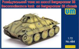 UM   484   Reconnaissance tank on Bergepanzer 38 chassis   1:72