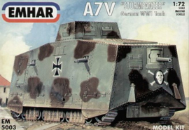 Emhar | 5003 | A7V Sturmpanzer | 1:72