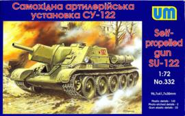 UM | 332 | SU122 Self Propelled Gun | 1:72