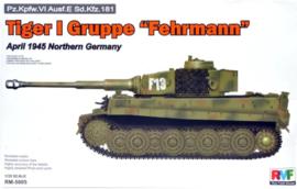 """Rye Field Model   5005   Tiger I Gruppe """"Fehrmann""""   1:35"""