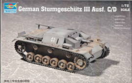 Trumpeter   07257   Stug III Ausf. C/D   1:72
