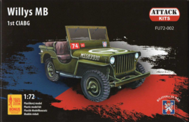 Attack | FU72-002 | Willys MB with figures | 1:72
