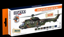 Hataka | HTK-CS80 | Royal Netherlands AF paint set vol1. (orange line)