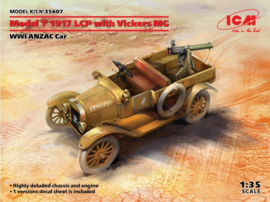 ICM | 35607 | Ford model T 1917 LCP with Vickers MG | 1:35