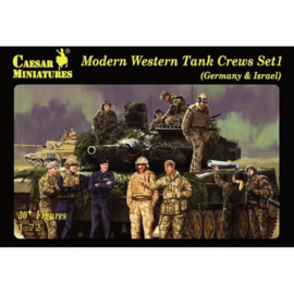 Modern western tank crews set1