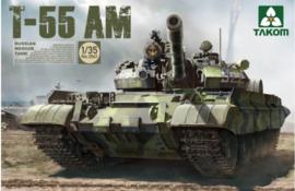 Takom | 2041 | T-55 AM Russian Medium Tank | 1:35