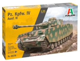 Italeri   6578   Pz.Kpfw.IV Ausf.H   1:35