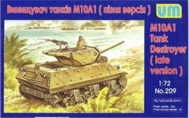 UM | 209 | M10A1 Late version | 1:72