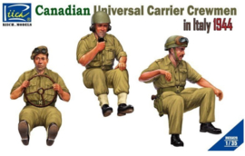 Riich | RV35029 | Canadian Universal Carrier Crew in Italie 1944 | 1:35