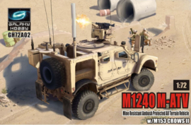 M1240 M-ATV with XM153 Crows II Rws