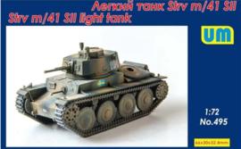 UM   495   STRV M/41 SII light tank   1:72