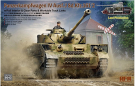 Rye Field Model | 5043 | SD.KFZ161/2 Panzer IV ausf.J FULL INTERIOR | 1:35