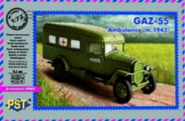 GAZ-55 Ambulance M1943