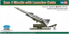 HobbyBoss | 82933 | SAM-2 Missile with Launcher Cabin | 1:72