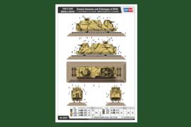 Kanonen und flakwagen auf BP42